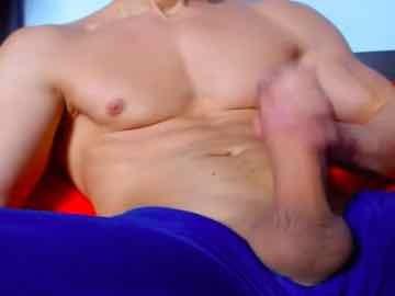 Muscular Gay Man Big Throbbing Cock Play