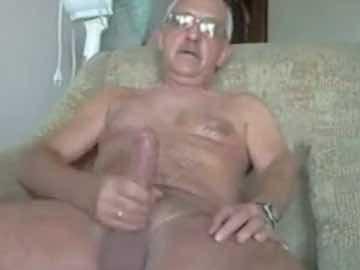 Mustache Grandpa Big Dick Cam